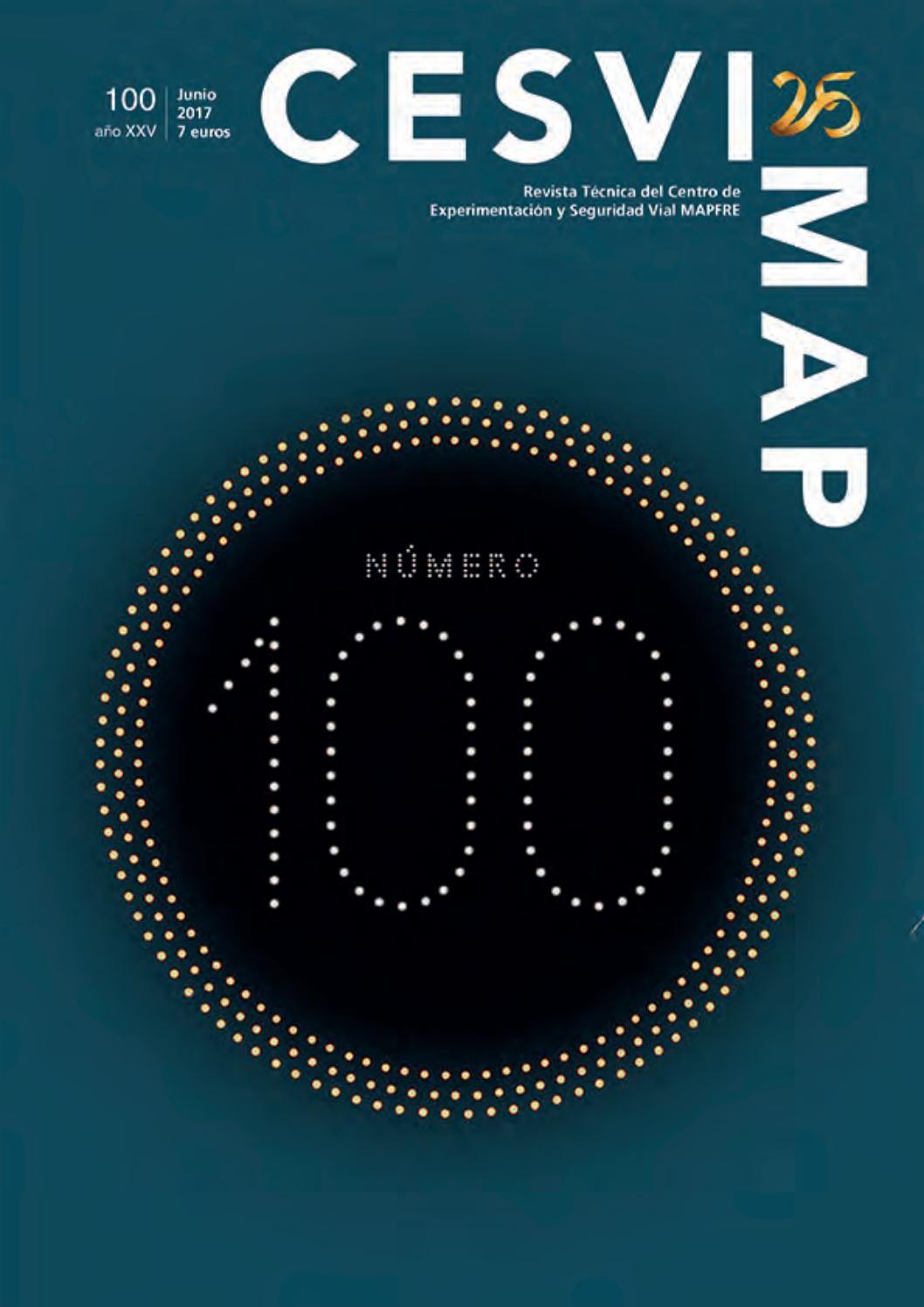 Revista CESVIMAP 100 by CESVIMAP - issuu