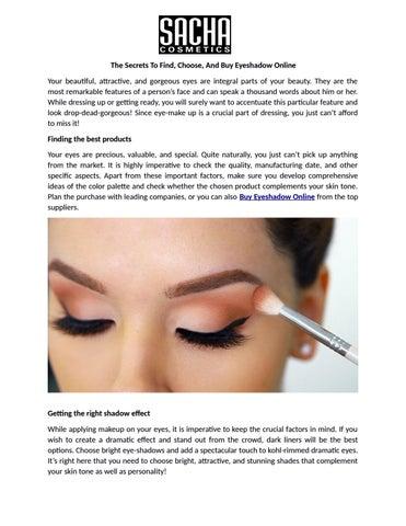 Sacha Cosmetics Ltd
