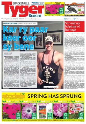 TygerBurger Brackenfell 20170913 by Tygerburger Newspaper - issuu