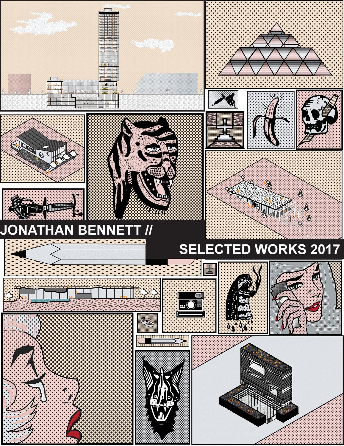 Jonathan Bennett Portfolio 2017 By Jonathan Bennett Issuu
