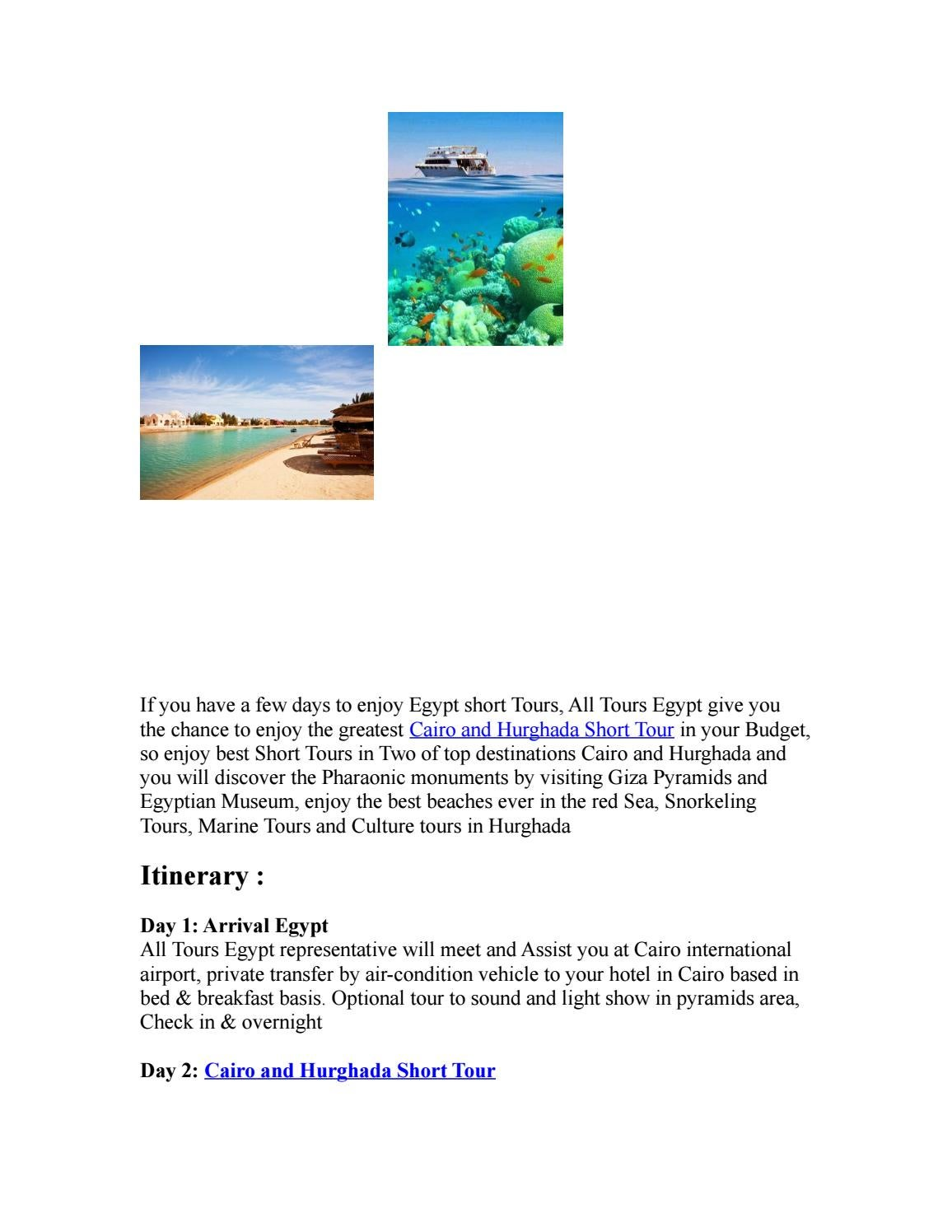 Cairo and hurghada short tour 2 by AllTours Egypt - issuu