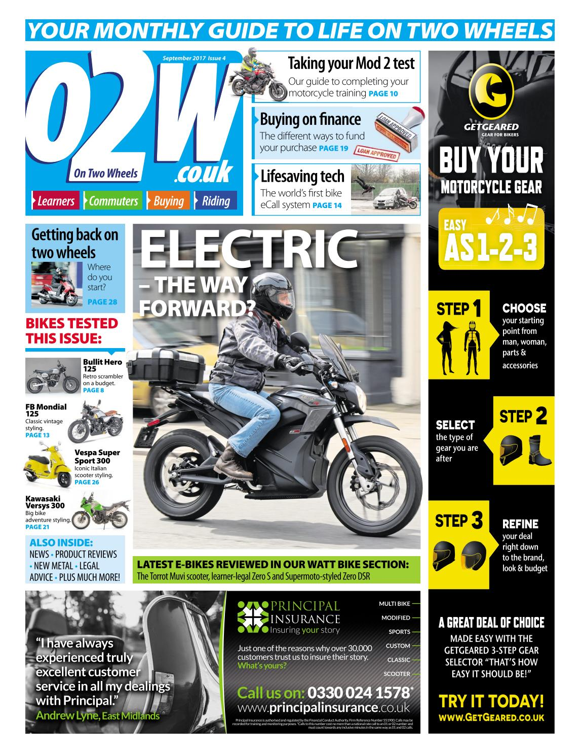 On Two Wheels - Issue 4 by Mortons Media Group Ltd - issuu