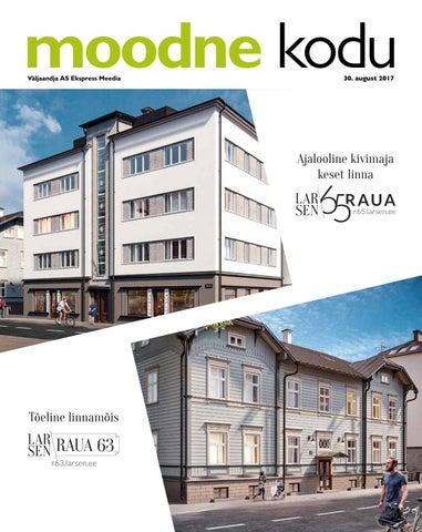 719aa7a9015 Moodne kodu (august 2017) by AS Ekspress Meedia - issuu