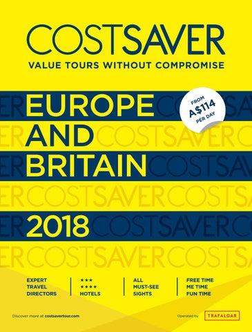 CostSaver 2018 for Australia by Trafalgar - issuu