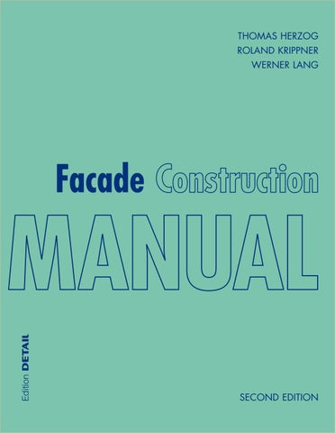 Facade Construction Manual By Detail Issuu