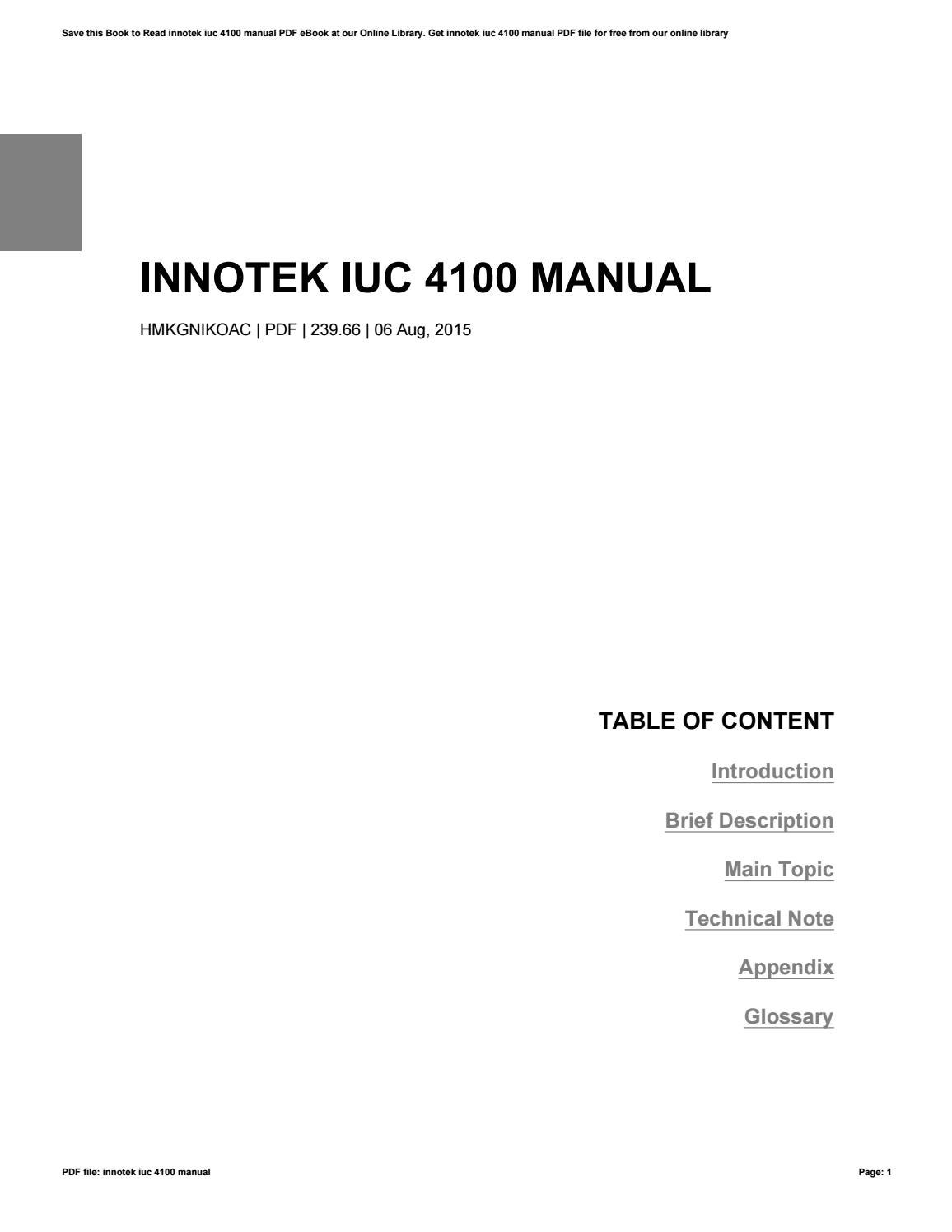 new products for novemberview all Array - innotek iuc 4100 manual by jeremy  issuu rh issuu ...