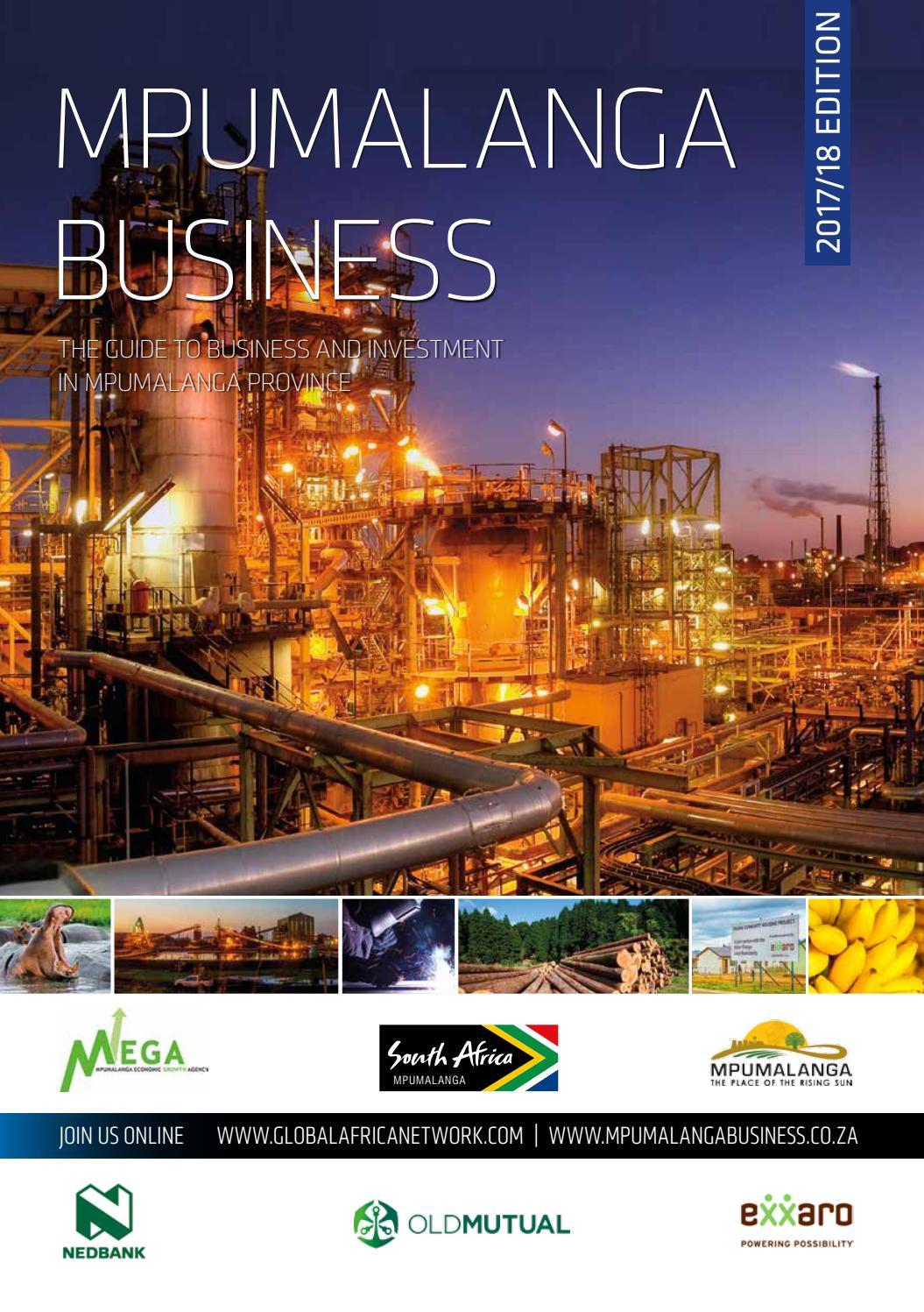 Mpumalanga Business 2017/18 by Global Africa Network - issuu