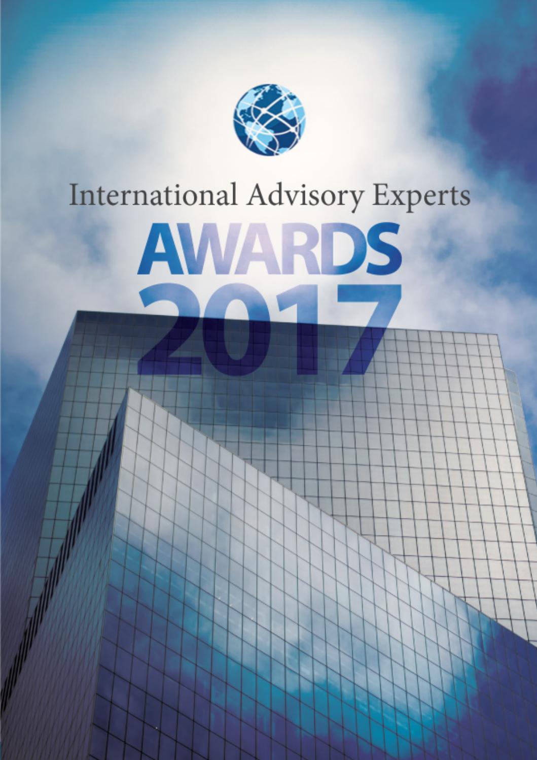 2017 International Advisory Experts Awards Final Magazine By Palanta L Chairs Big 90 Bean Bag Cover Abu Issuu