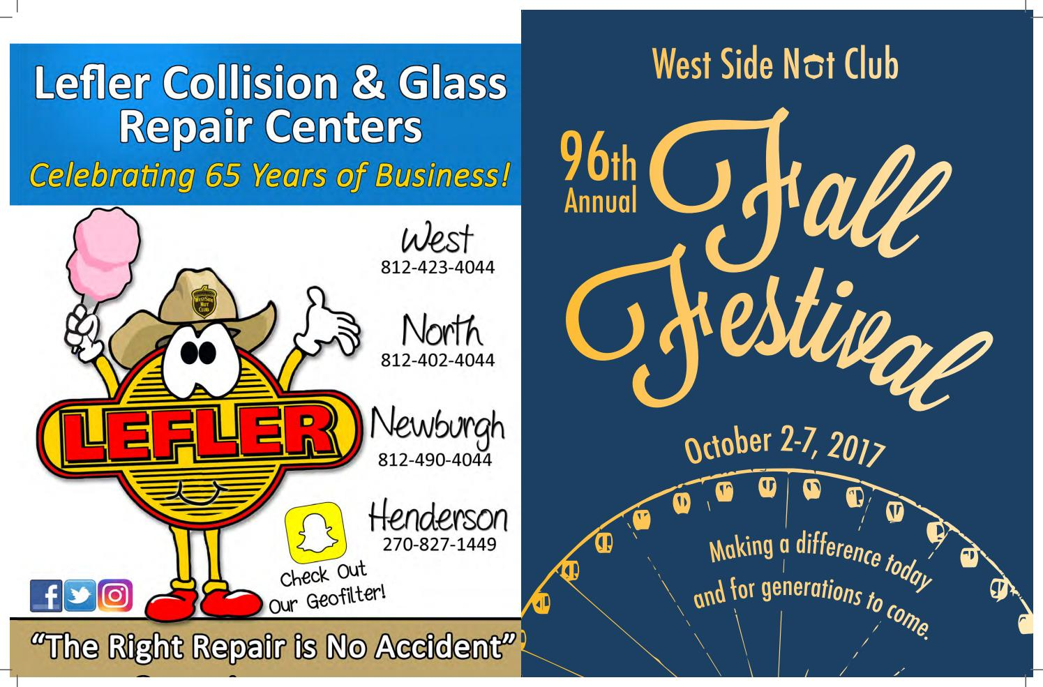 2017 West Side Nut Club Fall Festival Booklet by West Side ...