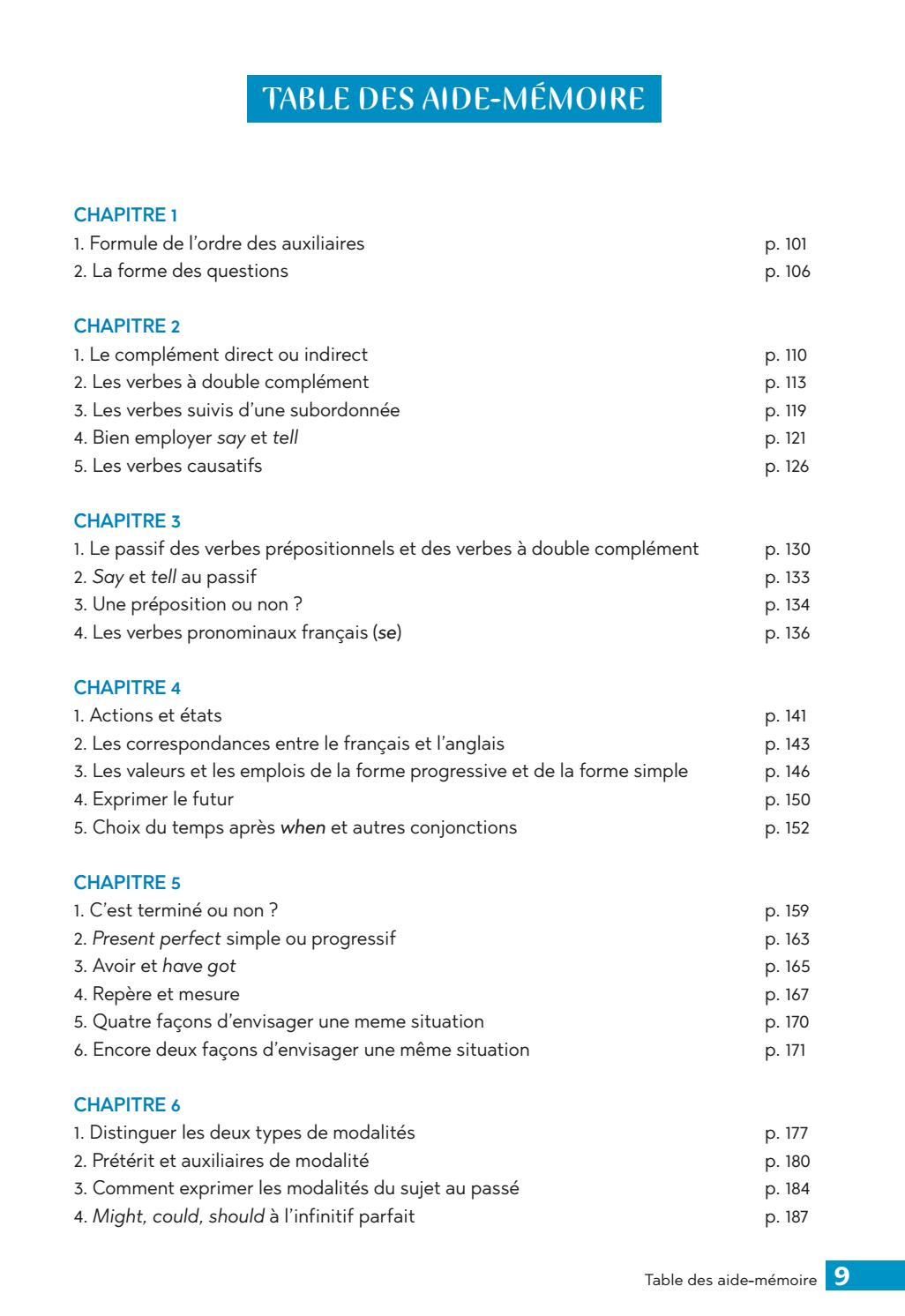 Exercices Commentes De Grammaire Anglaise Vol 1 C Riviere Editions Ophrys By To Groupe Issuu