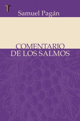 Comentario de los Salmos by Editorial Patmos - issuu