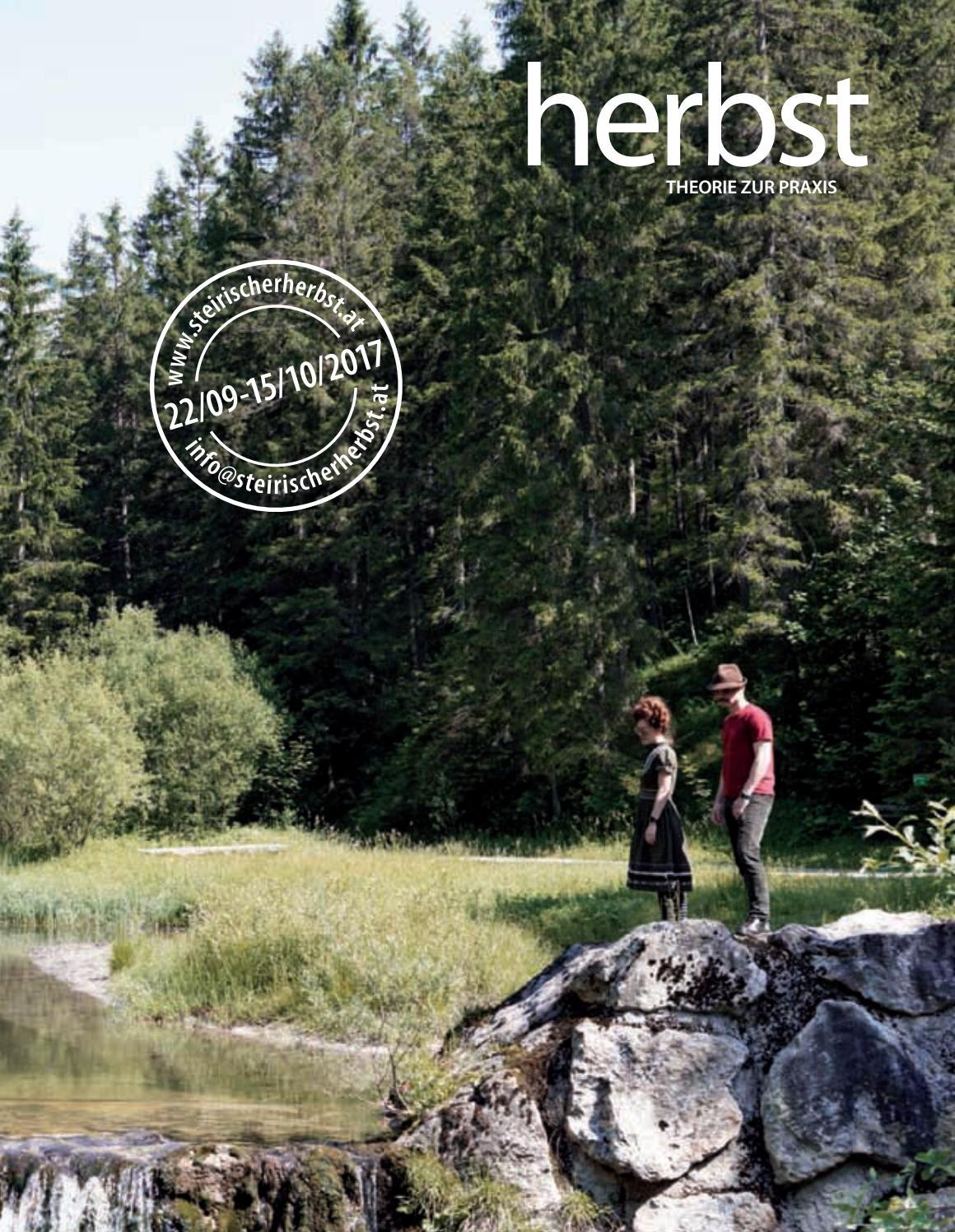 herbst. THEORIE ZUR PRAXIS 2017 by steirischer herbst - issuu