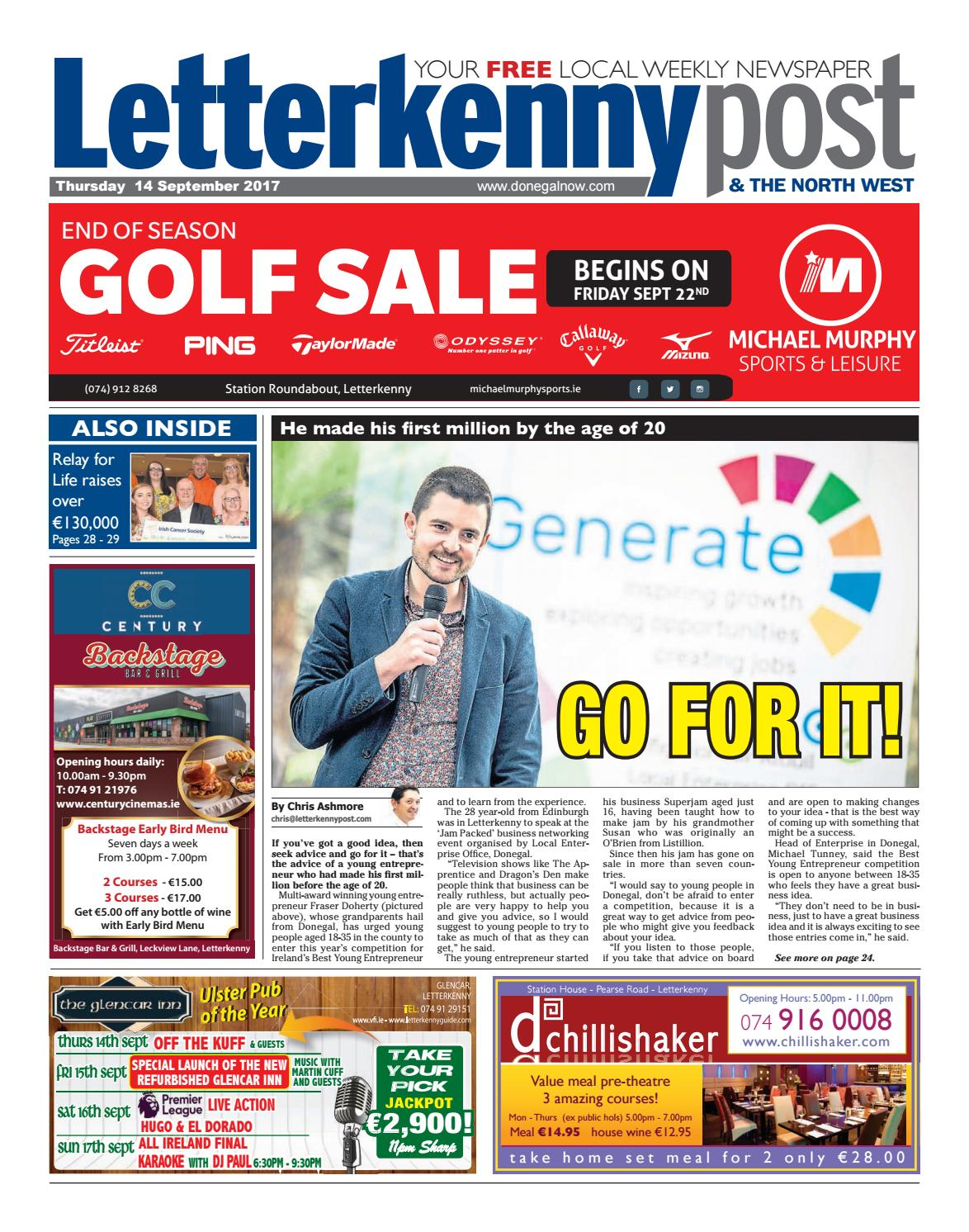 Letterkenny post 14 9 17 by River Media Newspapers - issuu