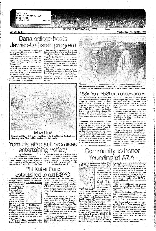 April 20, 1984