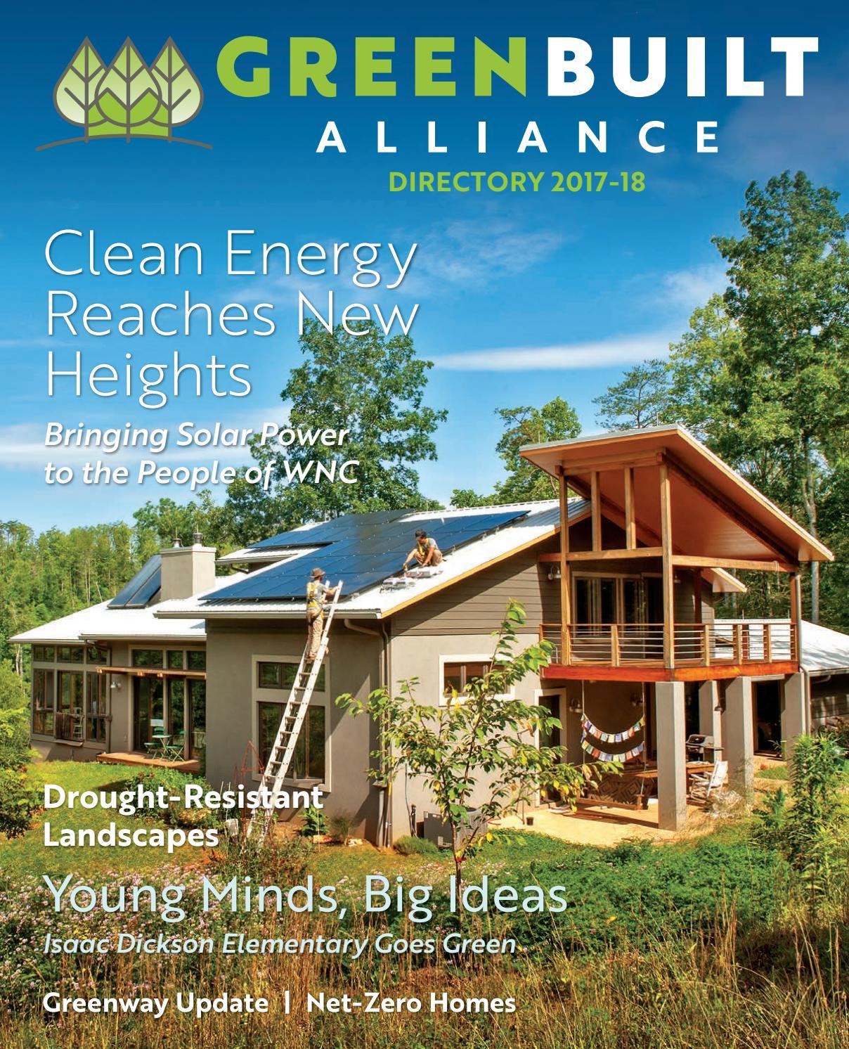 Green Built Alliance 2017 by Smoky Mountain News - issuu