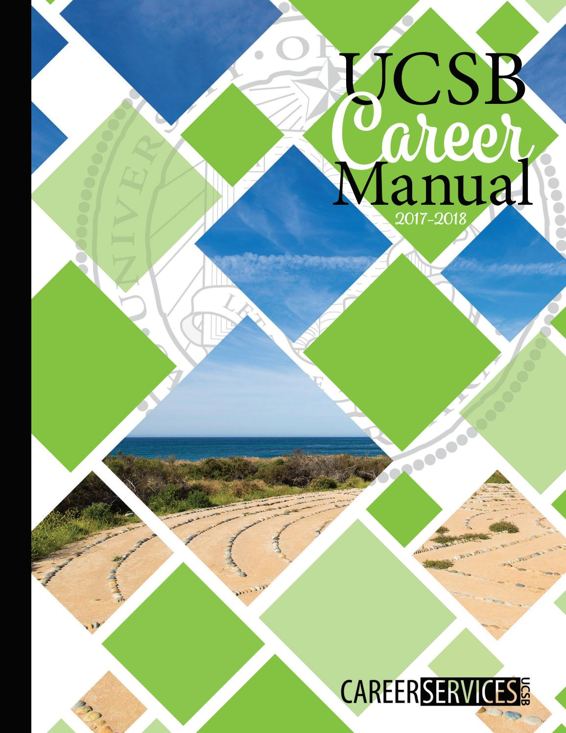 Academic Calendar Ucsb.Ucsb Career Manual 2017 2018 By Ucsb Career Services Issuu