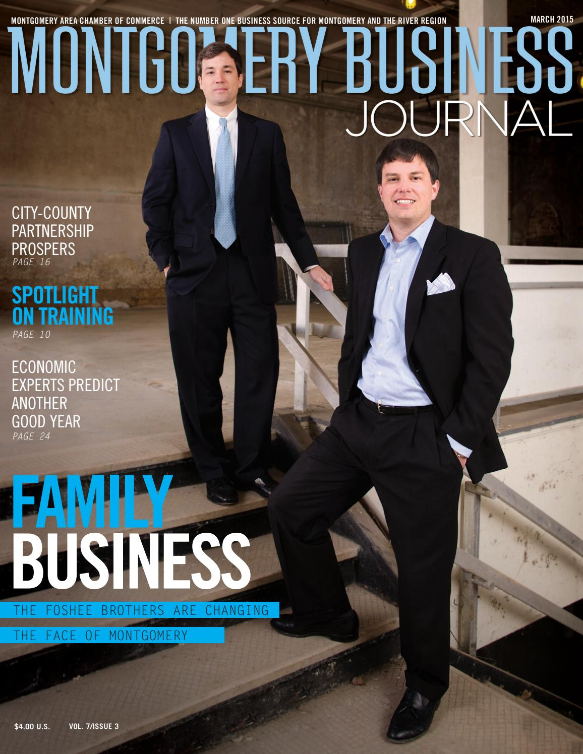 Montgomery Business Journal – March 2015 by Montgomery Area