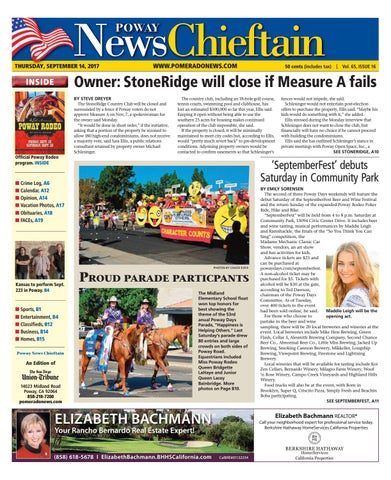 Poway News Chieftain 09 14 17 by MainStreet Media - issuu