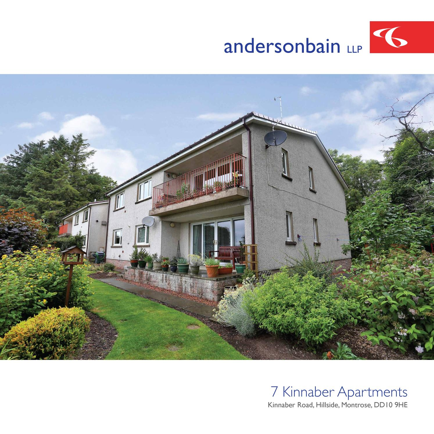 Separate Garage Block Possibly With Studio Accommodation: Andersonbain • 7 Kinnaber Apartments By Kovek