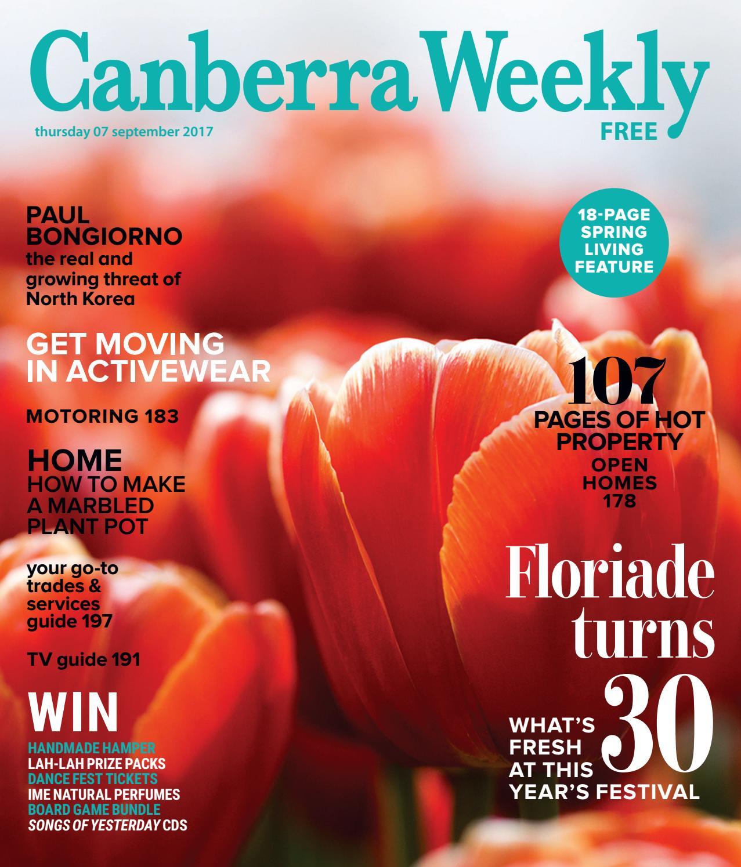 b2c350cdbc1 07 September 2017 by Canberra Weekly Magazine - issuu