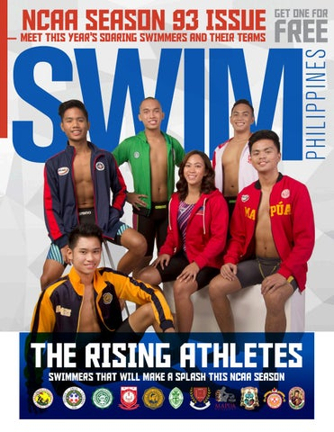 64fbaec5b43 NCAA SEASON 93 ISSUE MEET THIS YEAR'S SOARING SWIMMERS AND THEIR TEAMS
