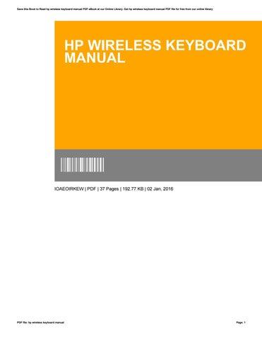 Keyboard Tutorial Pdf