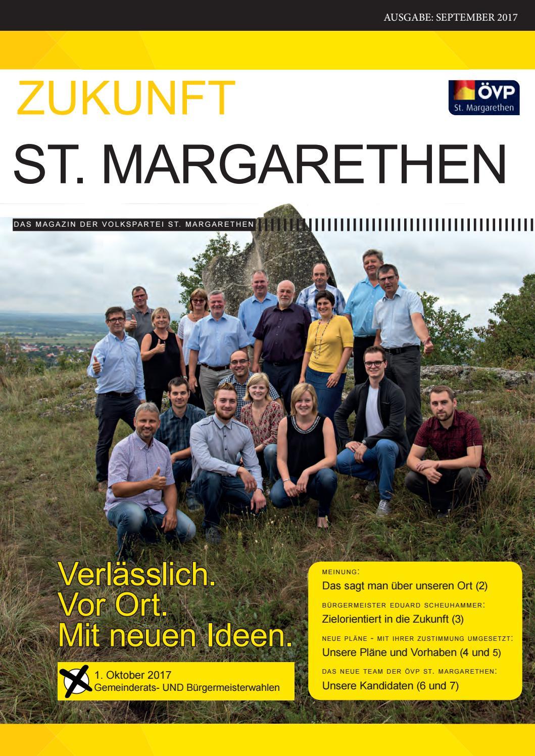Veranstaltungskalender: Gemeinde St. Margarethen