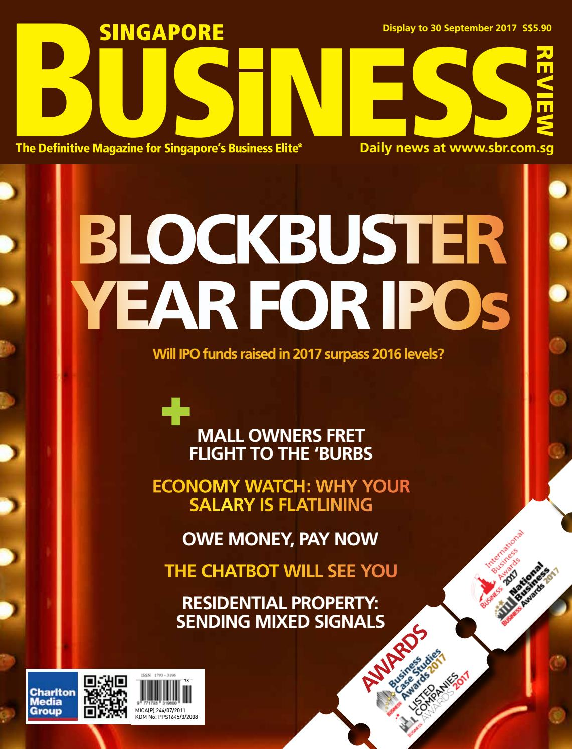 27caf6235afa Singapore Business Review (August - September 2017) by Charlton Media Group  - issuu