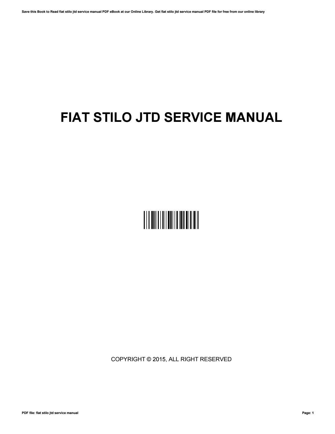 Fiat Fuse Box Diagram