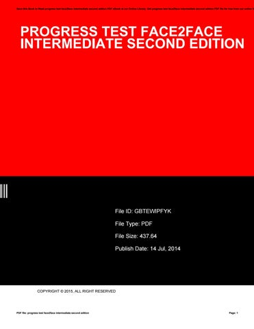 Face2face Elementary Second Edition Pdf