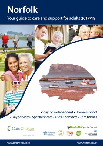 Norfolk Your Guide To Care And Support For Adults 2017 18
