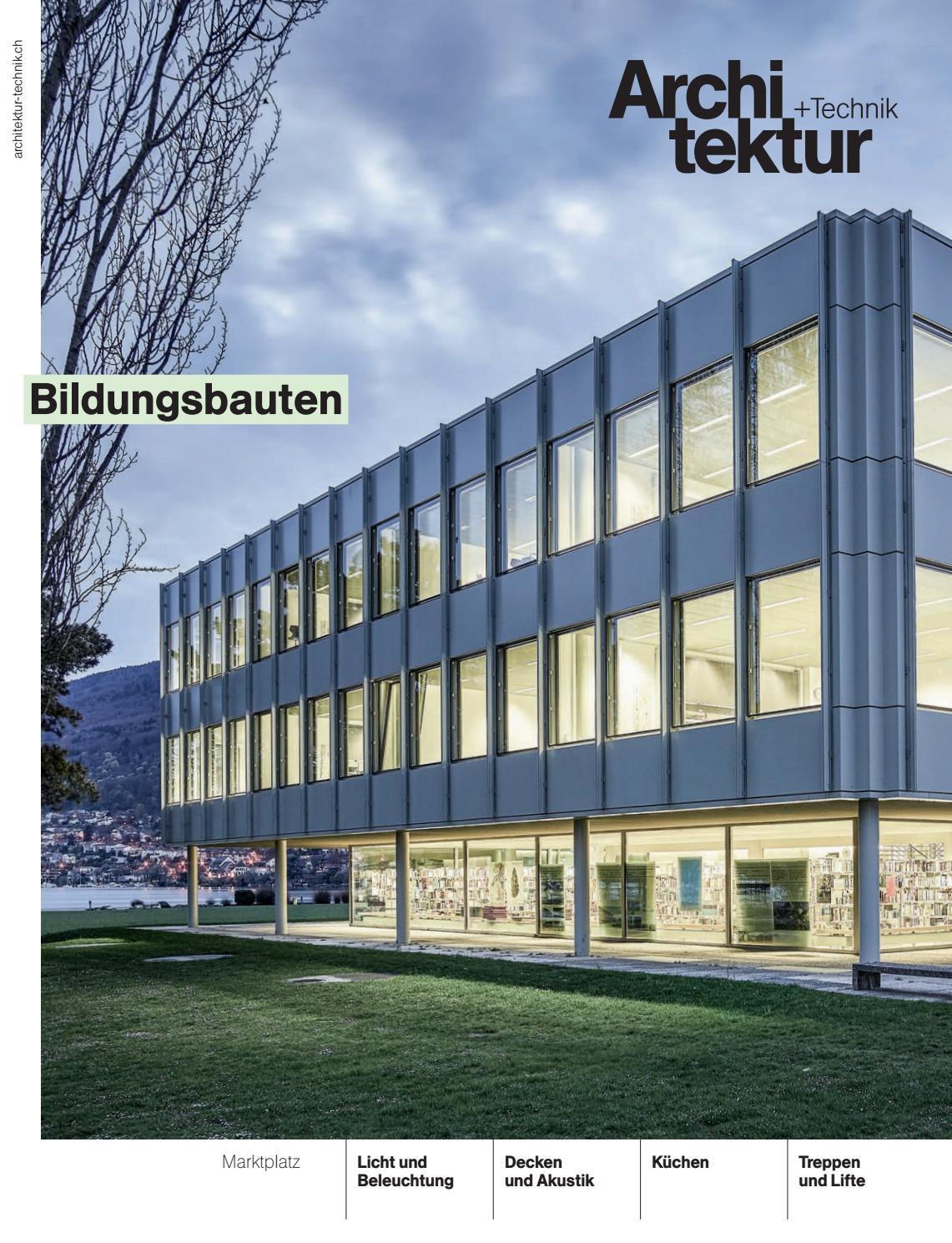 Architektur+Technik 06 2017 by BL Verlag AG - issuu