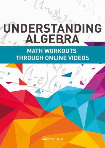 UNDERSTANDING ALGEBRA - MATH WORKOUTS THROUGH ONLINE VIDEOS by ...