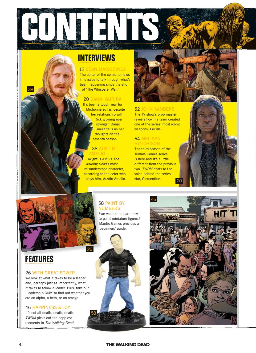 TWD Mag issue 20 spring 2017 by comics2017 - issuu