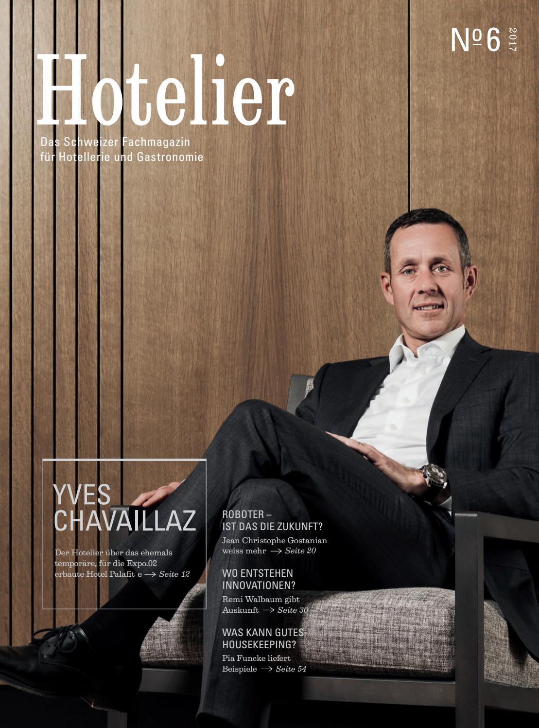Hotelier 06 2017 by BL Verlag AG - issuu