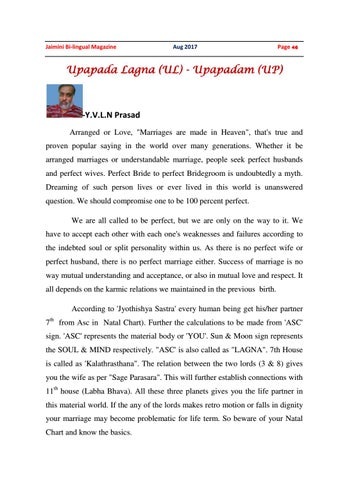 Marriages & problems by Anand0Brahma - issuu