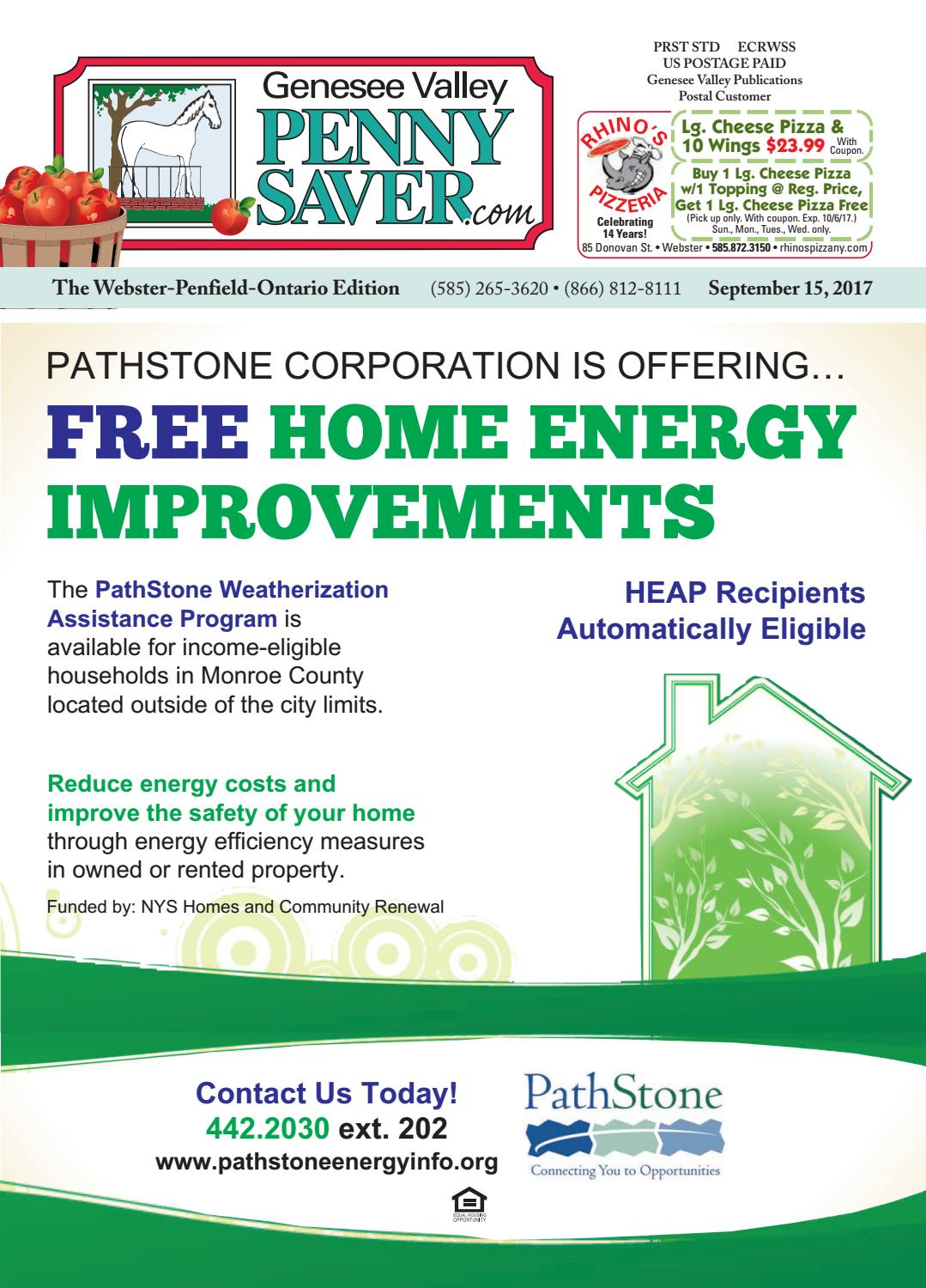 The Genesee Valley Penny Saver WebsterPenfieldOntario Edition - Free roofing invoice template online clothing stores for juniors