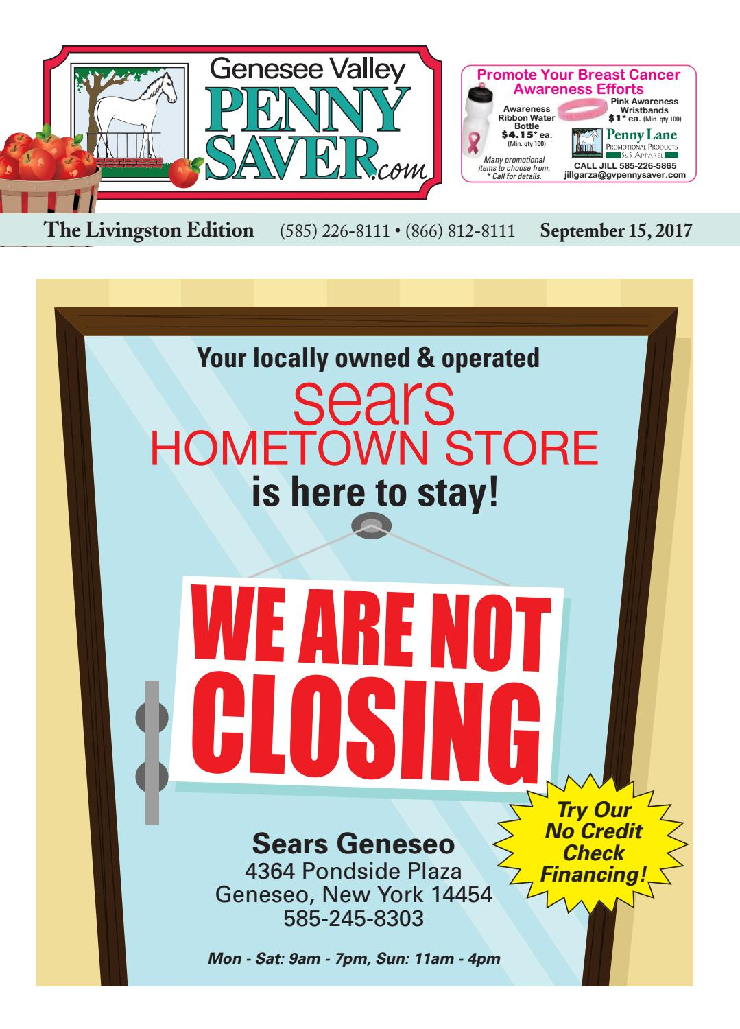The Genesee Valley Penny Saver Livingston Edition 9/15/17 by Genesee ...