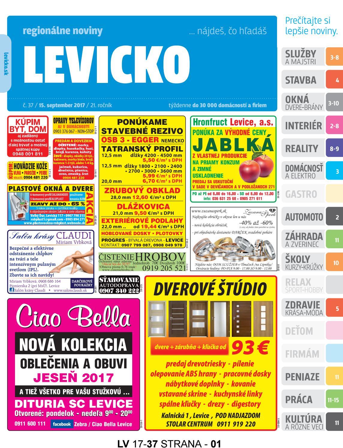 763a602426d2 Levicko 17-37 by levicko levicko - issuu