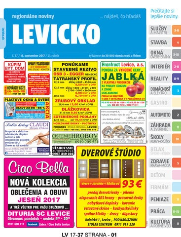 3ceb6dc83d Levicko 17-37 by levicko levicko - issuu