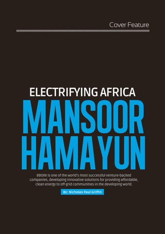 Page 41 of Electrifying Africa: Mansoor Hamayun, Co-Founder & CEO, BBOXX