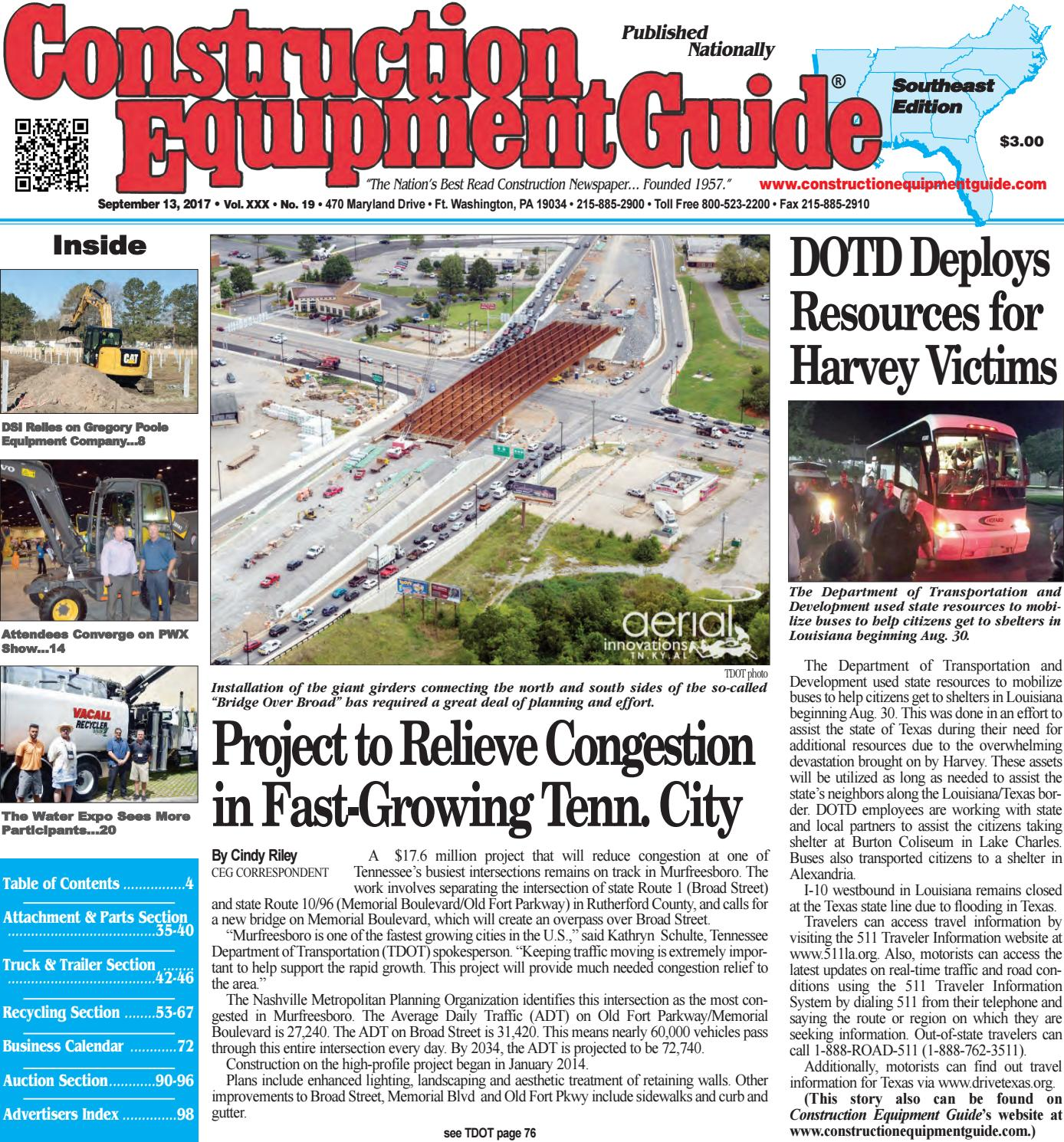southeast 19 september 13 2017 by construction equipment guide issuu
