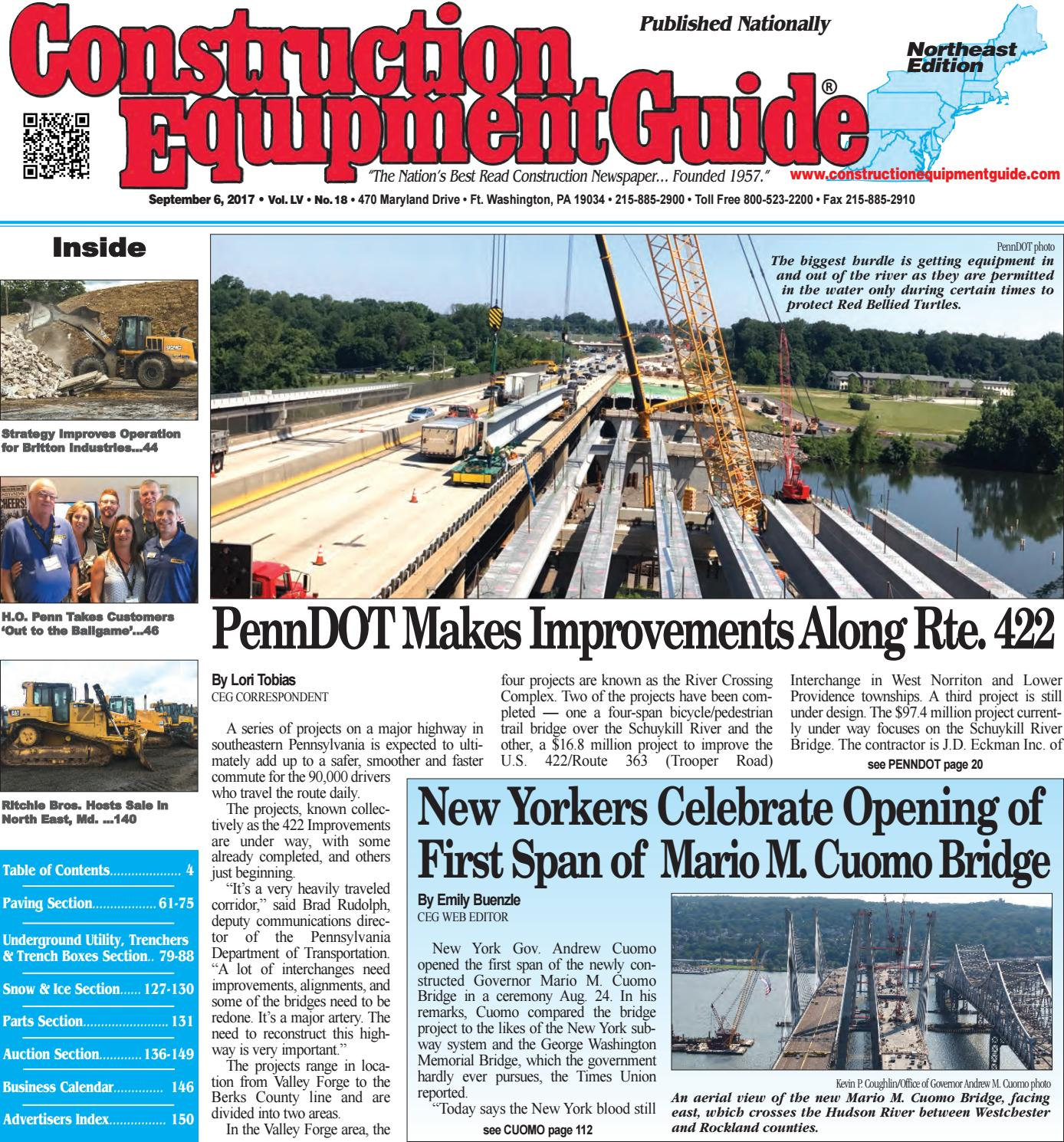 Northeast 18 September 6 2017 By Construction Equipment Guide Issuu Wiring Diagram Kubota B26 Tlb