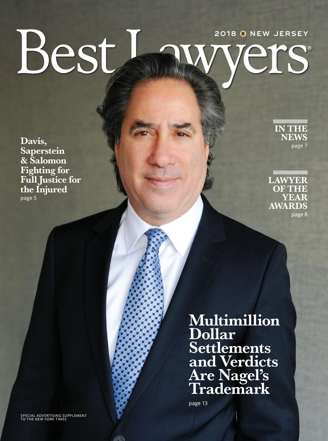 Best Lawyers in New Jersey 2018 by Best Lawyers - issuu