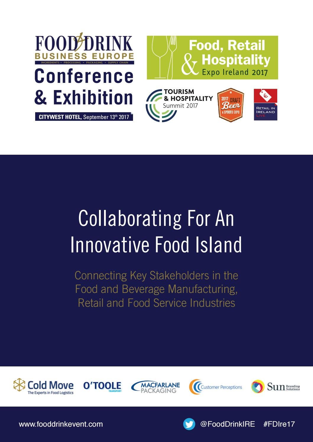 7041ca1b54212 Food and drink business conference 2017 by Colin Murphy - issuu