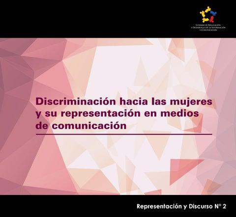 7591f5e85762b Discriminación hacia las mujeres y su representación en medios de ...