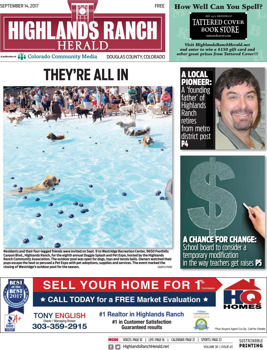 Highlands Ranch Herald 0914 by Colorado Community Media - issuu