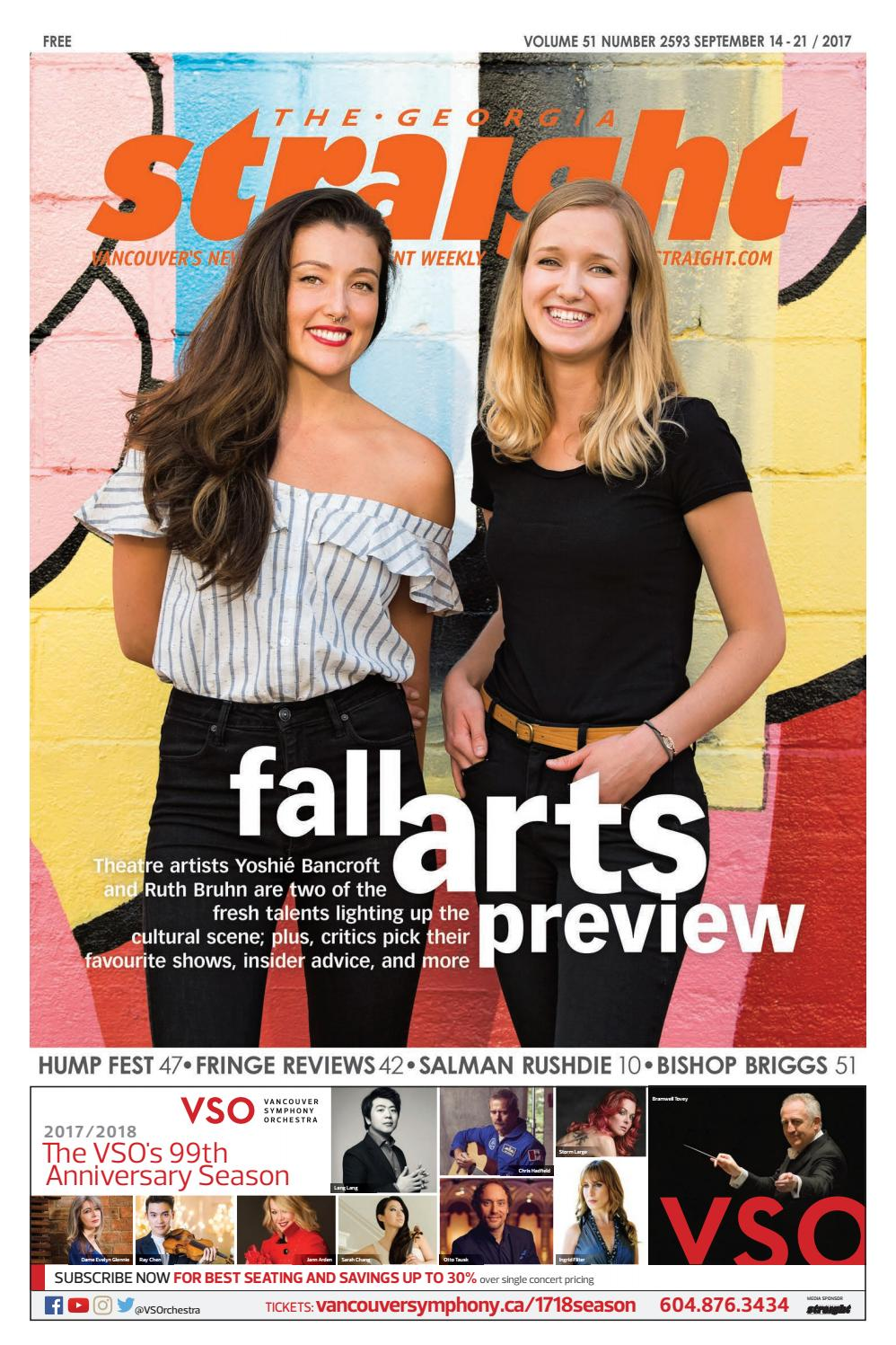 The Georgia Straight - Fall Arts Preview - Sept 14, 2017 by The Georgia  Straight - issuu