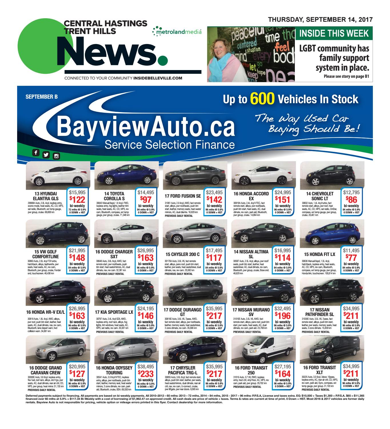 Chth091417 by Metroland East - Trent Hills Independent - issuu