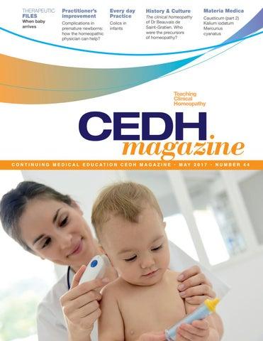 CEDH Magazine May 2017 by Boiron USA - issuu